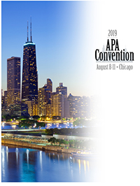 APA Convention in Chicago Division 8 program cover