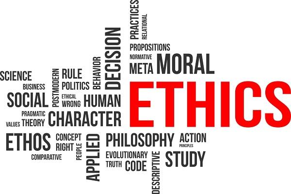 Wordmap of ethics