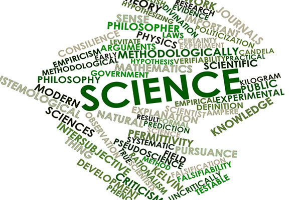 Wordmap of science