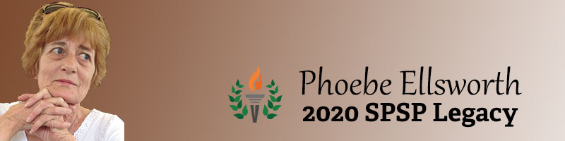 Phoebe C. Ellsworth 2020 Legacy Honoree