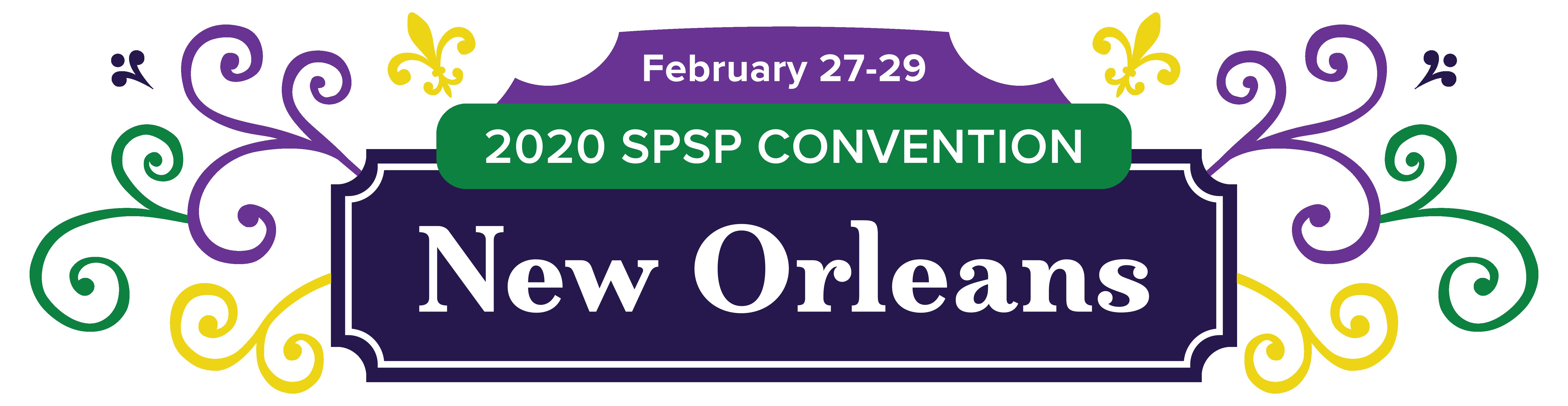 New Orleans SPSP2020 logo