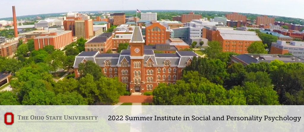 Ohio State University Summer Institute for Social and Personality Psychology