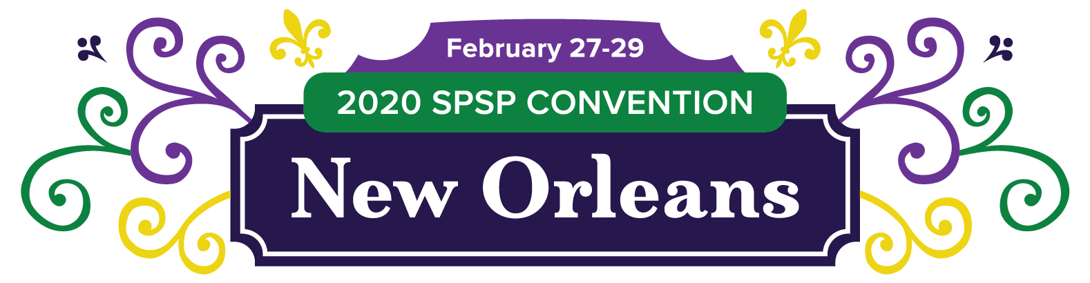 SPSP 2020 Annual Convention in New Orleans logo