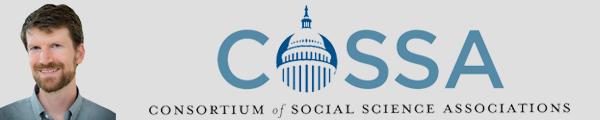 Image of John Paul Wilson and COSSA logo