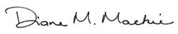 Diane Mackie signature