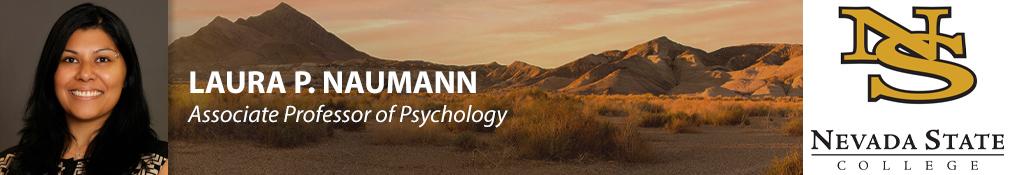 Laura Naumann associate Professor of Psychology