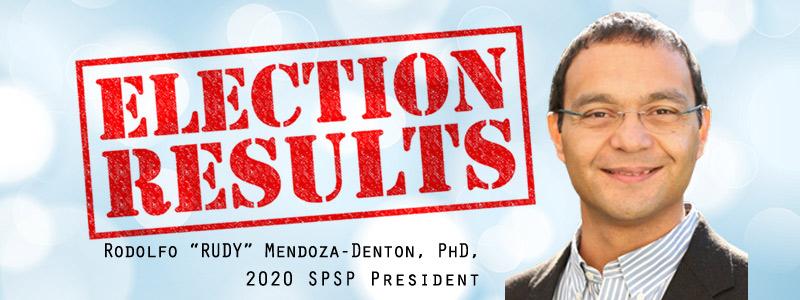 Image of Rodolfo Mendoza-Denton as elected 2020 SPSP President