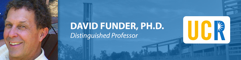 David Funder, Ph.D.