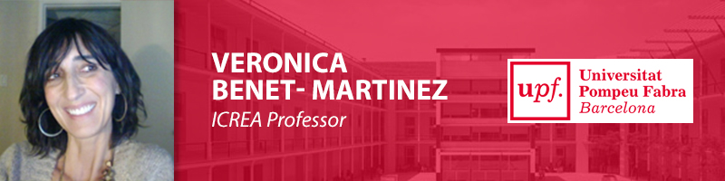 Veronica Benet-Martinez, Ph.D.