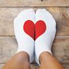 image of stocking feet